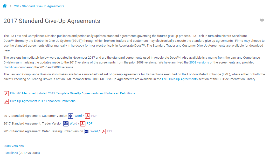 Agreement Library Legal Templates Fia Tech